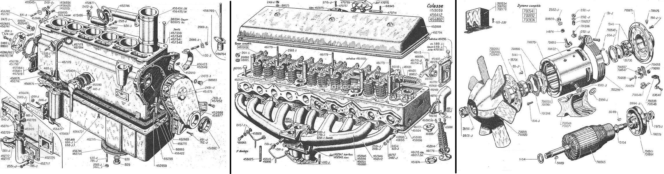 MOTOR + TOEBEHOREN: 15CV COMPLEET